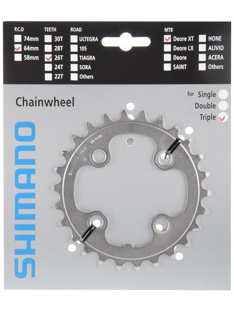 Shimano Deore XT FC-M771 Kettenblatt 26 Zähne